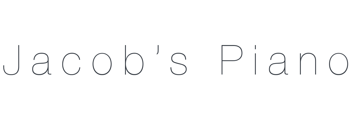 Jacob's Piano Logo